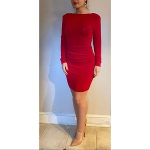 Jovani Cocktail Dress Red